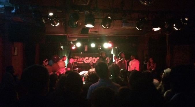 Show do The Lesson no Arlene's Grocery, em NY