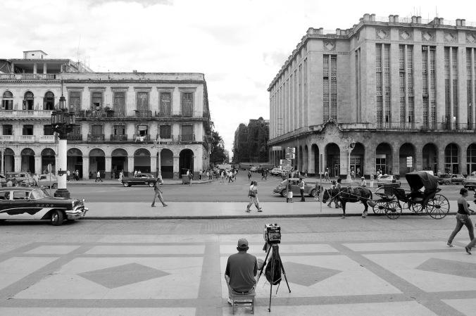 Vista a partir do Capitólio de Cuba, em Havana - uma das cenas que me fizeram