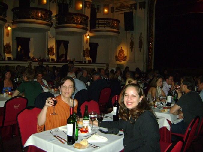 Jantar + show de tango em Buenos Aires, em 2011. Foto: Arquivo pessoal