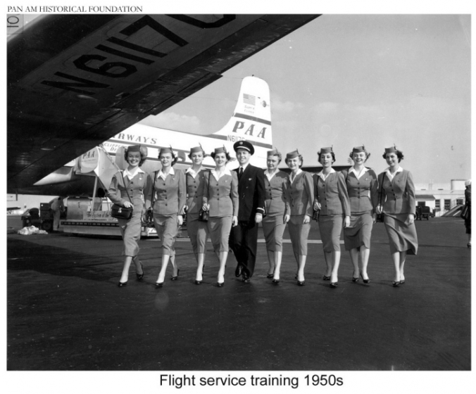 Pan_Am_stewardess_class_poses_during_1950s-4130-900-600-100