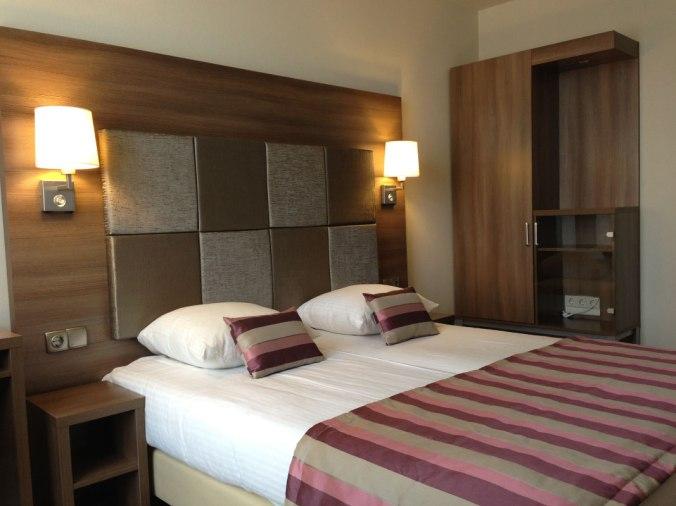 Quarto do Hotel Cordial, em Amsterdã