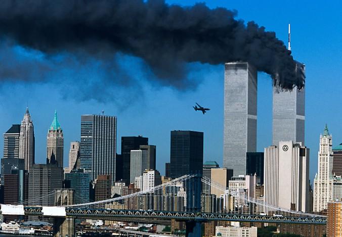 Ataque terrorista às torres gêmeas em 11 de setembro de 2001. Foto: Portal Metropole