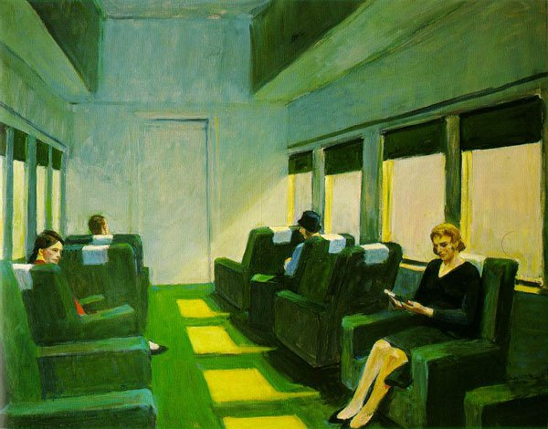 """Chair Car"" - Edward Hopper"