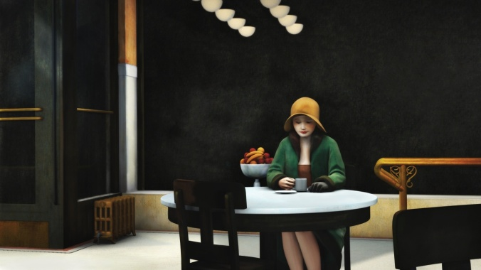 """Automat"" - Edward Hopper"