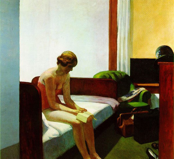 """Hotel Room"" - Edward Hopper"