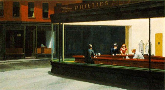 """""""Nighthawks"""", de Edward Hopper"""
