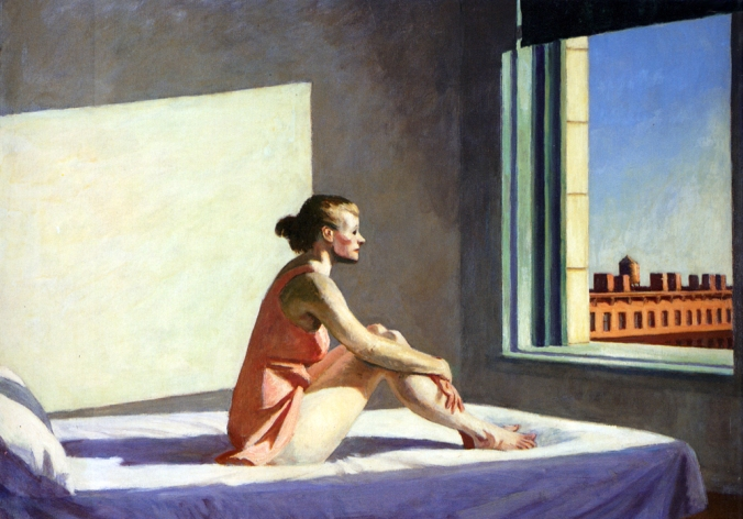 """Morning Sun"" - Edward Hopper"