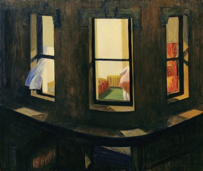 """Night Windows"" - Edward Hopper"