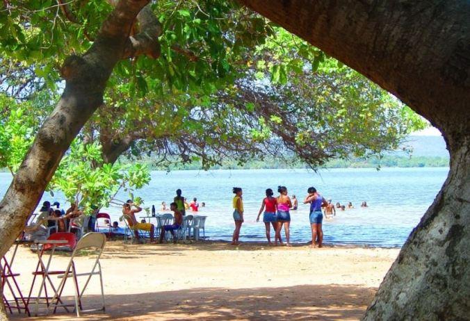 Praia do Caju. Foto: Agamenon Pedrosa Ribeiro da Costa