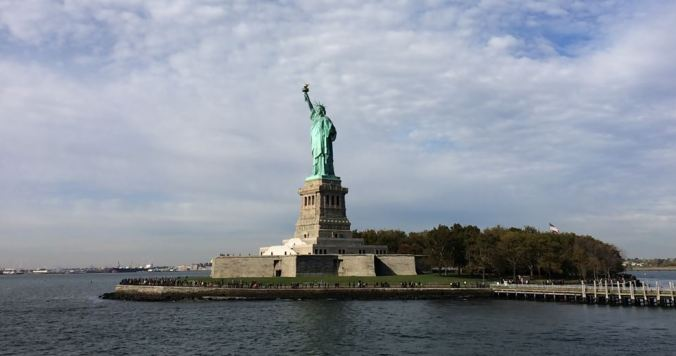 Estátua da Liberdade. Foto: Débora Costa e Silva