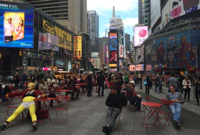 Times Square. Foto: Débora Costa e Silva