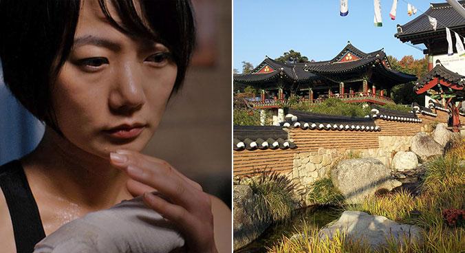 Sun e o Templo Bongeunsa, em Seul. Fotos: Divulgação e Evan Chu/Creative Commons