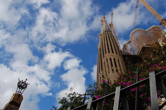 Sagrada Família. Foto: Débora Costa e Silva