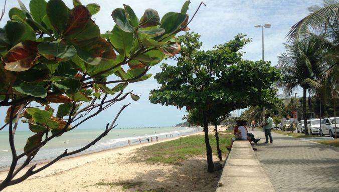 Praia de Manaíra, em João Pessoa. Foto: Débora Costa e Silva