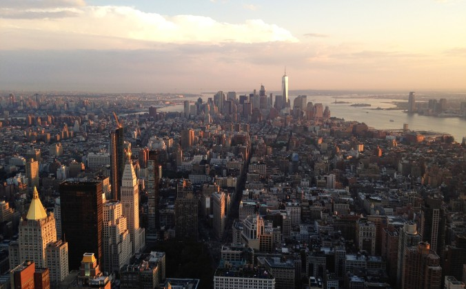 Vista de Manhattan do alto do Empire State Building. Foto: Débora Costa e Silva