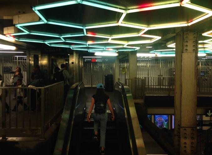 Estação Broadway Lafayette, em Lower Manhattan. Foto: Débora Costa e Silva